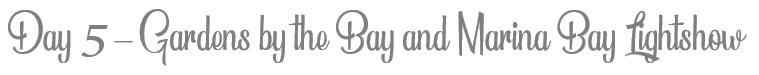 TheSavvyPantry-Singapore5DayItinerary-Day5GardensByTheBayLightShow