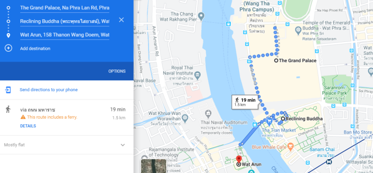 TheSavvyPantry-BangkokIn3Days_Day1Map
