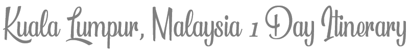 TheSavvyPantry-KualaLumpur1Day_Title