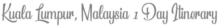 TheSavvyPantry-KualaLumpur1Day_Title